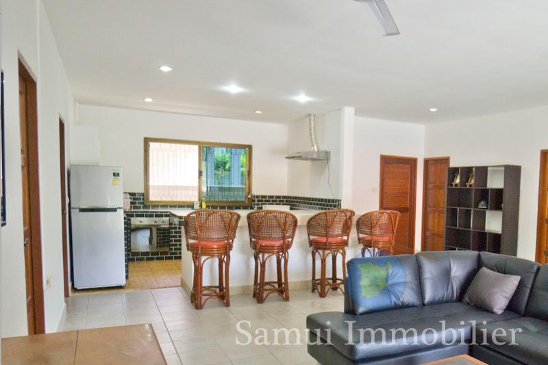 Villa + studio à vendre - 5 chambres - Hua Thanon - Koh Samui