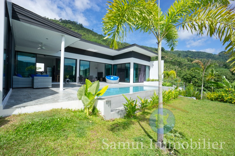 Villa à vendre - 3 chambres - Lami - Koh Samui